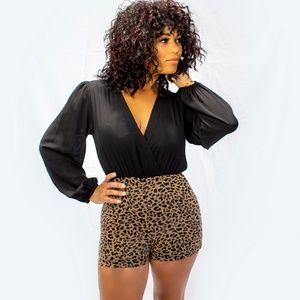 Other - Cute N' Feisty Leopard Romper